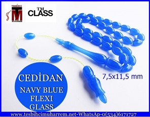 FLEXI GLASS 7,5x11,5 mm NAVY BLUE CEDİDAN